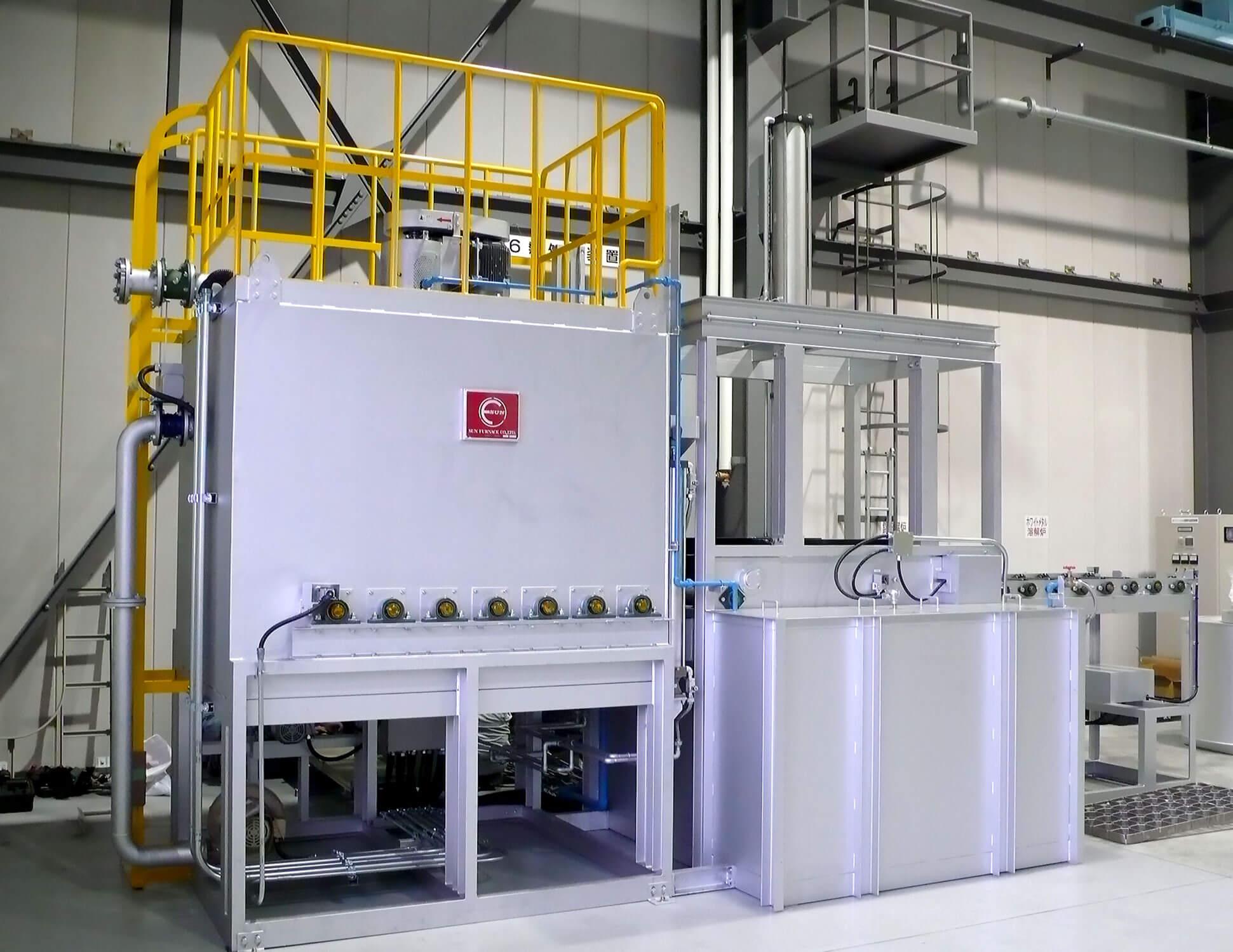 アルミ熱処理炉